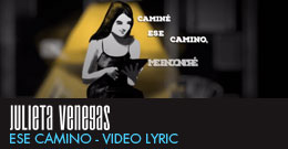 Julieta Venegas – Ese Camino – Video Lyric