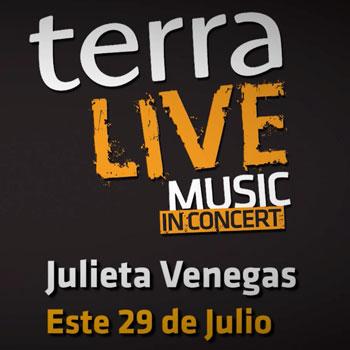 Julieta Venegas llega a Terra Live Music in Concert